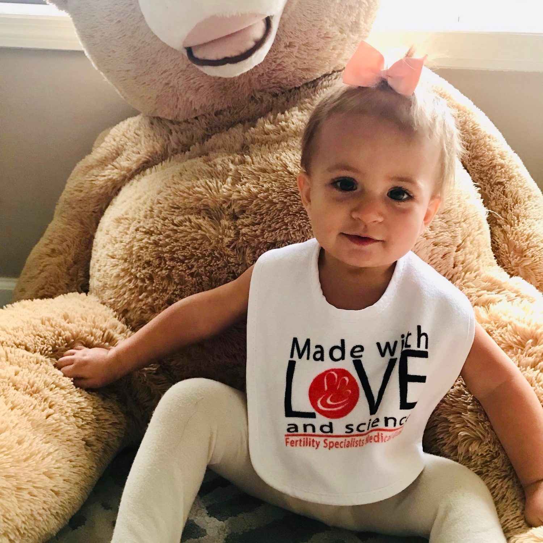 Allegra & Her Teddy Bear
