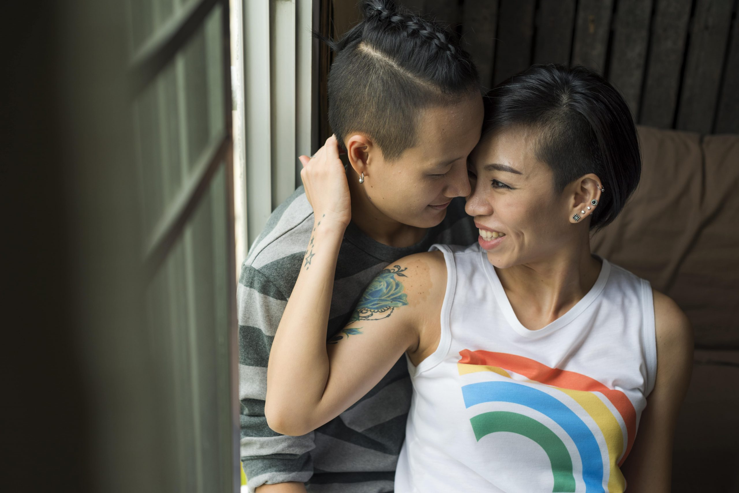 LGBT couple ready to build a family